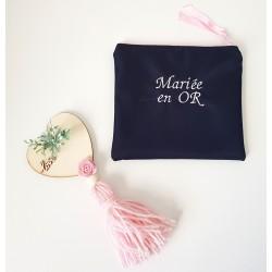 Pochette thème mariage sur commande