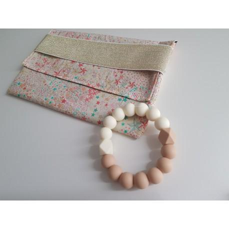 Duo Pochette Adelajda et bracelet de dentition